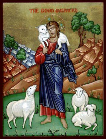 P1091-jesus-christ-good-sheperd-hand-painted-icon